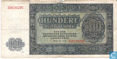 Banknoten  - DDR (USSR-Zone) - 1948 (Deutschen Notenbank) Issue - DDR 100 Deutsche Mark 1948
