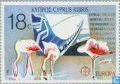 Postzegels - Cyprus [CYP] - Europa – Transport en communicatie