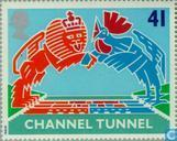 Postage Stamps - Great Britain [GBR] - Channel Tunnel