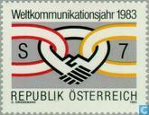 Postzegels - Oostenrijk [AUT] - Int. Jaar van de Communicatie