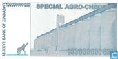 Billets de banque - Zimbabwe - 2008 Special Agro-Cheque Issue - Zimbabwe 100 Billion Dollars 2008
