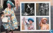 Briefmarken - Gibraltar - Queen Elizabeth-100. Jahrestag
