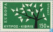 Timbres-poste - Chypre [CYP] - Europe – Arbre à 19 feuilles