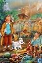 VERKEERDE RUBRIEK --> STRIP-EXLIBRIS/PRENT Hommage à Hergé - BD Image no 63