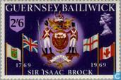 Briefmarken - Guernsey - Brock, Sir Isaac 1769-1969