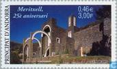 Postage Stamps - Andorra - French - Church Meritzell