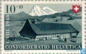 Timbres-poste - Suisse [CHE] - Maisons