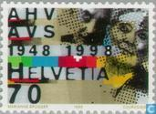 Postage Stamps - Switzerland [CHE] - AHV 50 years