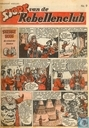 Bandes dessinées - Sjors van de Rebellenclub (tijdschrift) - 1957 nummer  9