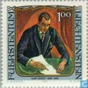 Postage Stamps - Liechtenstein - Painting celebrities