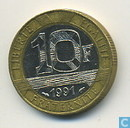 Monnaies - France - France 10 francs 1991 (frappe monnaie)