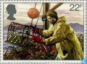 Timbres-poste - Grande-Bretagne [GBR] - Pêches