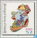 Postage Stamps - Ireland - Geological survey 150 years
