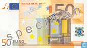 Eurozone 50 Euro (Specimen)