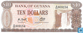 Banknotes - Guyana - 1966-1992 ND Issue - Guyana 10 Dollars ND (1992)