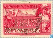 Postzegels - San Marino - Espresso