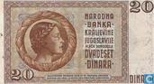 Billets de banque - Yougoslavie - 1934-1936 Issue - Yougoslavie 20 Dinara 1936