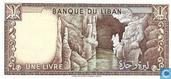 Banknoten  - Banque du Liban - Libanon 1 Livre