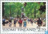 Postage Stamps - Finland - Europe – Nature reserves and parks