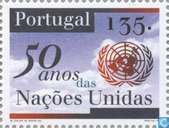 Postage Stamps - Portugal [PRT] - 50 years of UNO
