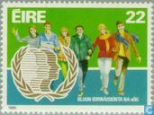 Postage Stamps - Ireland - Int. Year of Youth