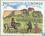 Postage Stamps - Norway - 300 years Fort Kongsten