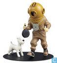 l'objet le plus précieux - Collection Nostalgia - Plongeur Tintin