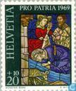 Postage Stamps - Switzerland [CHE] - Stained glass
