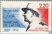 Postage Stamps - France [FRA] - Maréchal de Lattre de Tassigny
