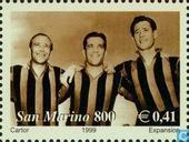 Timbres-poste - Saint-Marin - AC Milan