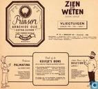 Strips - Kuifjesbon producten - Chromo Vliegtuigen Oorlog 1939 - 1945