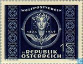 Postage Stamps - Austria [AUT] - 75 years of UPU