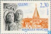 Postage Stamps - France [FRA] - Church St. Pierre et Paul, Cluny