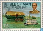 Postage Stamps - Man - Sir George Goldie