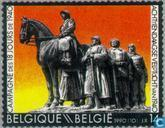 Postage Stamps - Belgium [BEL] - 18-day campaign ad 1940