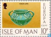 Briefmarken - Man - Europa – Kunsthandwerk