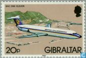 Postage Stamps - Gibraltar - Aircraft