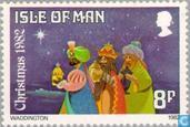 Postage Stamps - Man - Three Kings