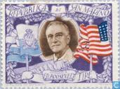 Briefmarken - San Marino - Roosevelt, Franklin D.