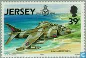 Timbres-poste - Jersey - 75 jaar RAF