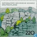 Postzegels - Duitsland, Bondsrepubliek [DEU] - Sächsische Schweiz