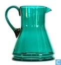 Glas / kristal - Kristalunie - Libel Waterstel groen