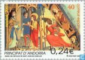 Briefmarken - Andorra - Spanisch - Biblische Szenen