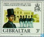 Timbres-poste - Gibraltar - Police 1830-1980