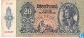 Hongrie 20 Pengö 1941