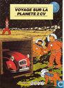 Strips - Kuifje - Voyage sur la planete 2 CV