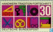 Postage Stamps - Germany, Federal Republic [DEU] - Handicraft