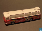 Modelauto's  - Hermey - Germany Team Bus 'Coca Cola'