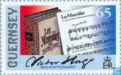 Timbres-poste - Guernesey - Hugo, Victor 1802-1885