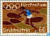Postage Stamps - Liechtenstein - Olympic Games
